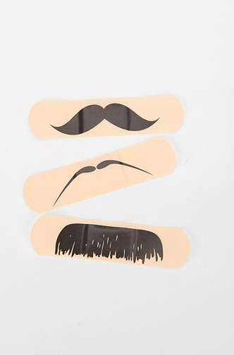 moustache bandages