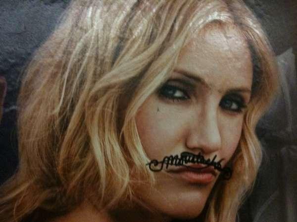 Lip Rug Graffiti