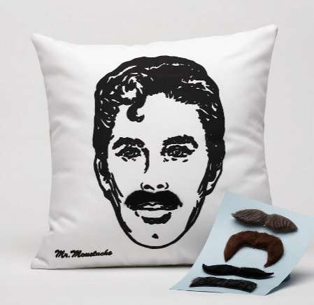 Facial Hair Cushions