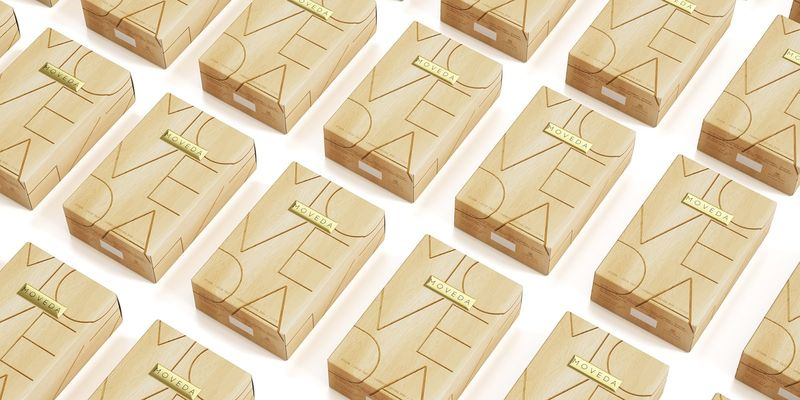 Wood-Inspired Cologne Packaging