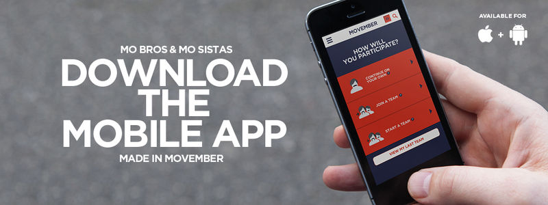 Marvelous Movember Apps