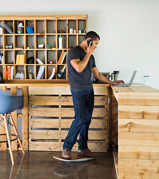 Surf-Like Office Decks