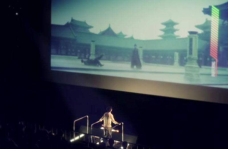 Treadmill-Powered Cinemas