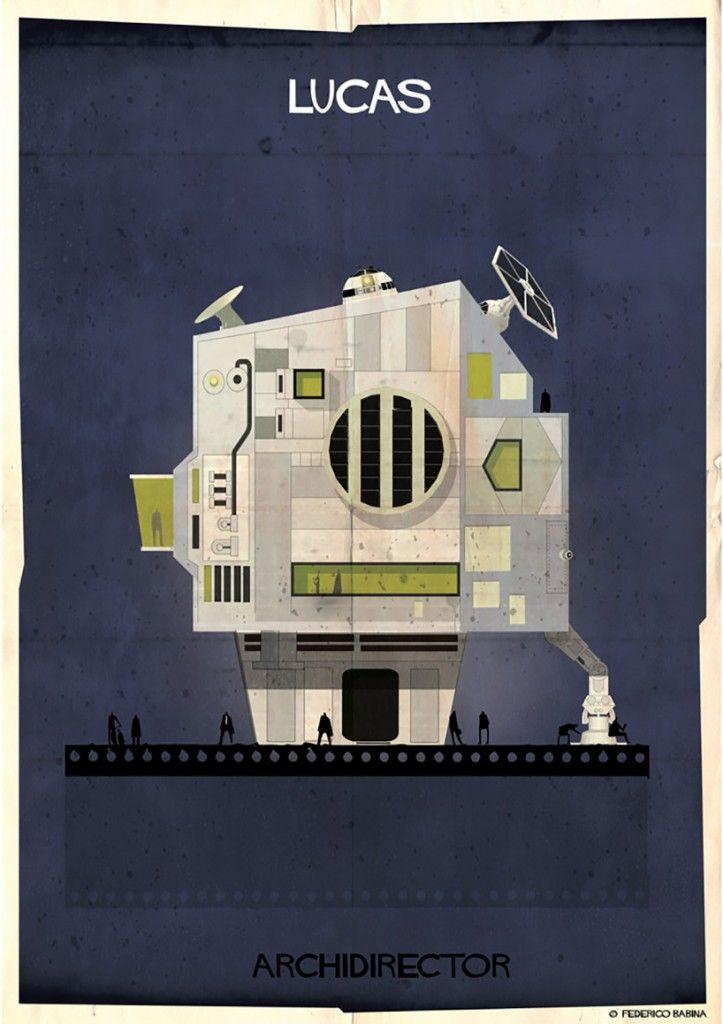 Imaginary Movie Director Homes