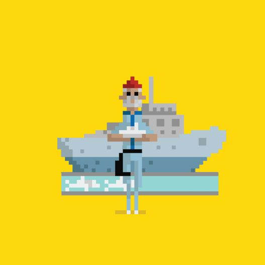 Pixelated Pop Culture GIFs