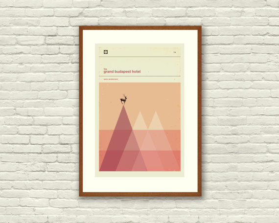 Minimalist Cinematic Prints