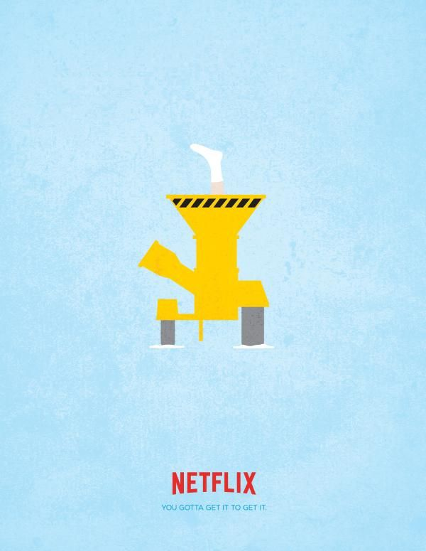 Minimalist Movie Ads