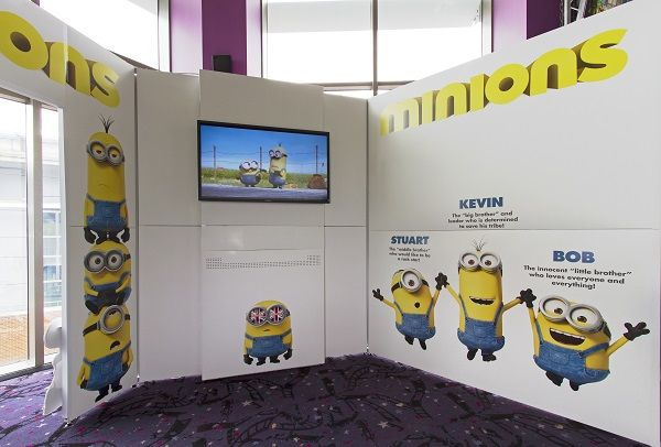 Immersive Movie Marketing Kiosks