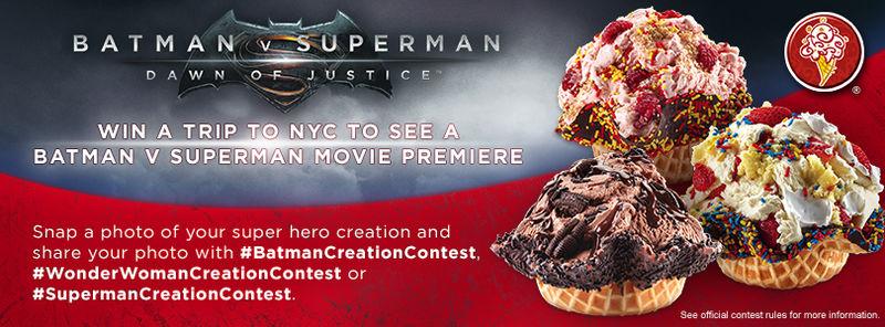 Superhero-Inspired Ice Creams