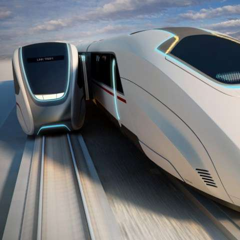 High-Speed Train Transfers