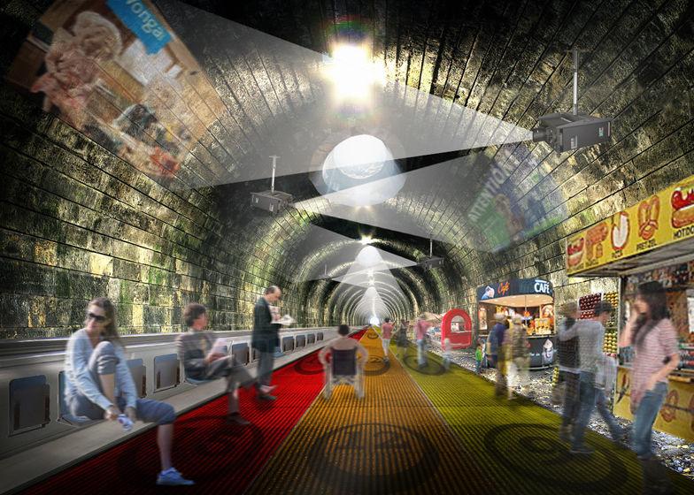 Underground City Travelators