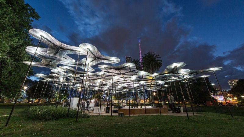 Lush Urban Pavilions