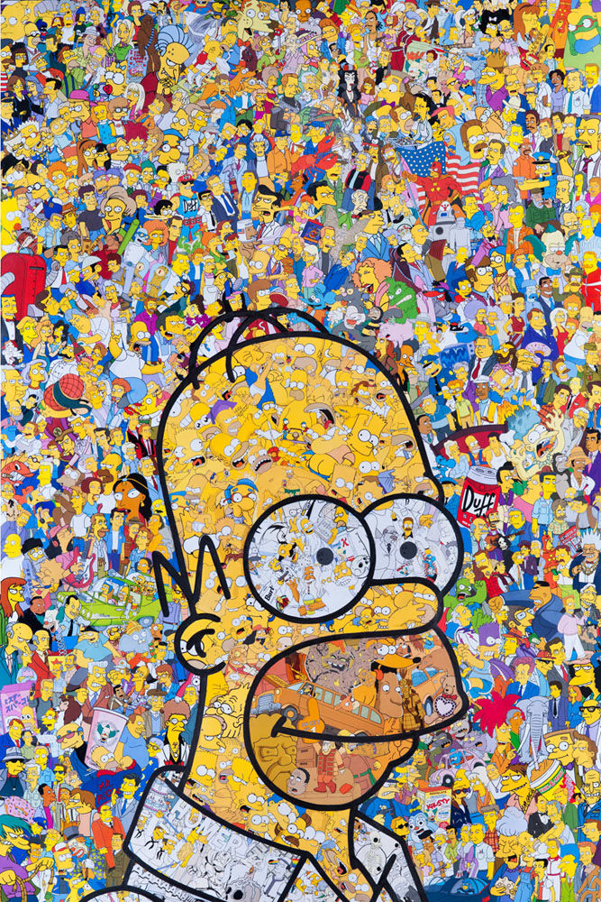 Vivid Pop Culture Collages