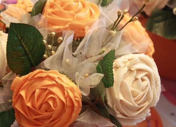 Brilliant Bouquet Cupcakes