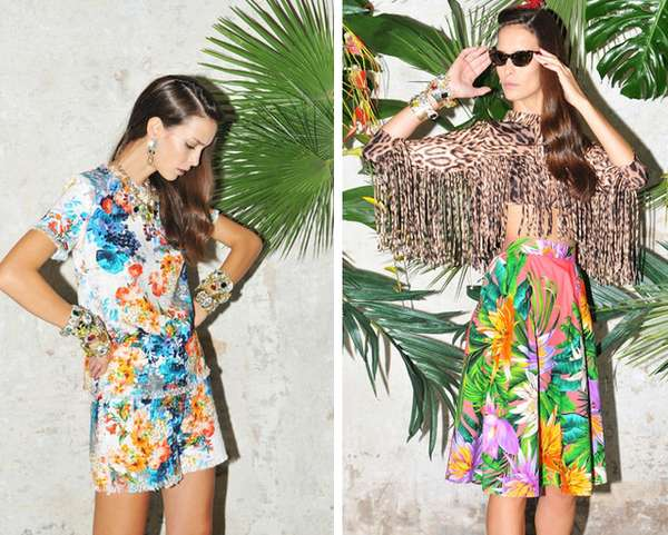 Steamy Tropical Styles