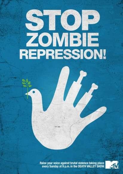 Zombie-Saving Propaganda Ads