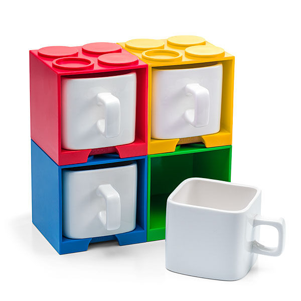 Building Block Mug Holders