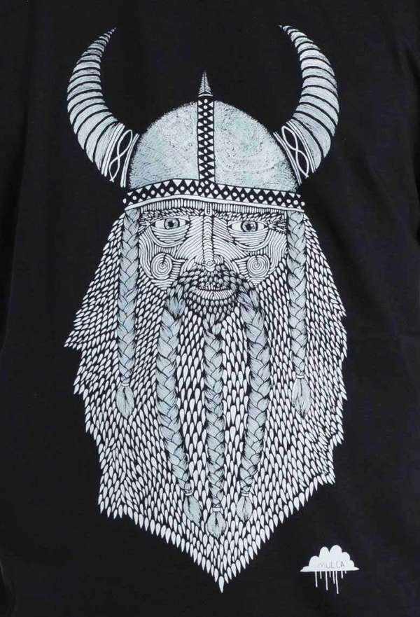 Zany Bearded Viking Portraits