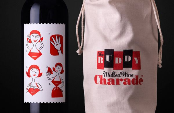 Mulled Wine Charade packaging