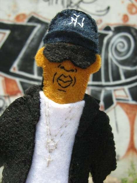 Rockstar Finger Puppets
