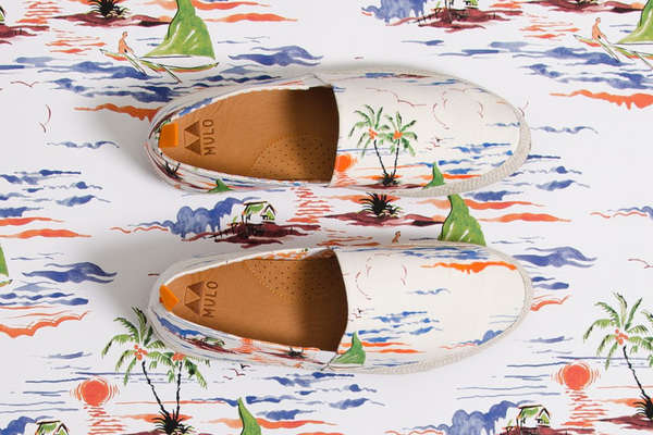 Tropical Slip-On Shoes