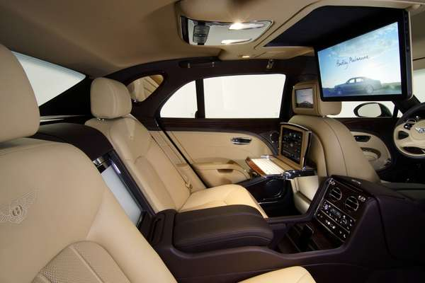 Mulsanne Executive Interior Concept
