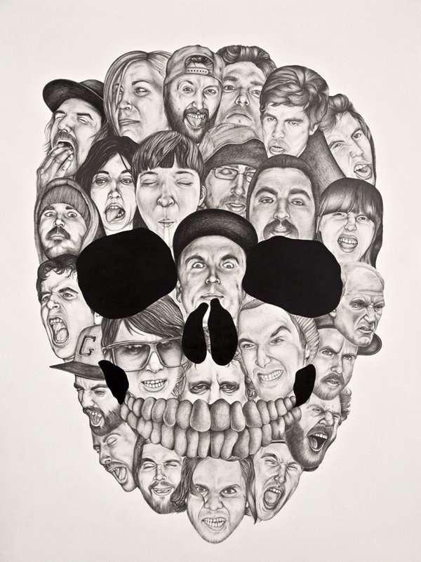 Multi-Faced Skulls