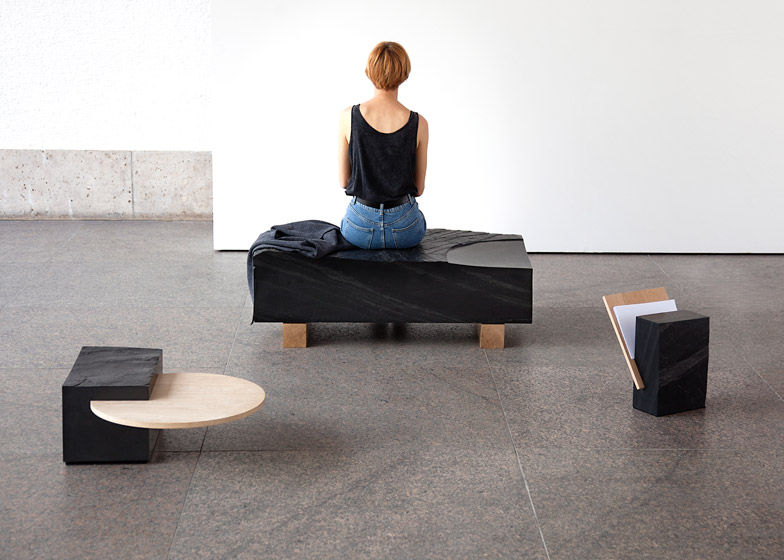 Interpretive Stone Furniture