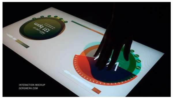 Touchscreen Turntables