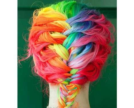 50 Multicolored Hairdos