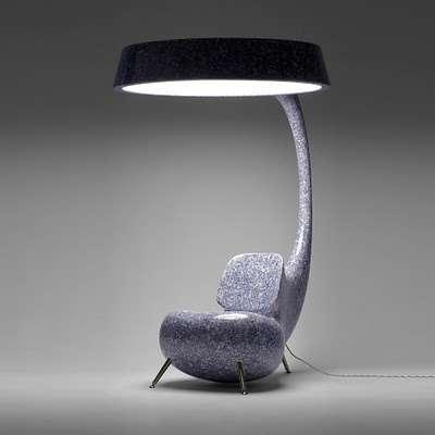 Hybrid Lamp Chairs Multifunctional Furniture
