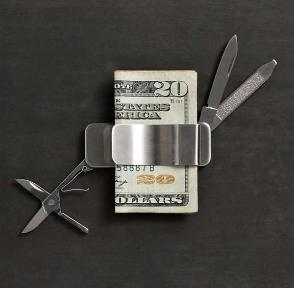 Multi-Functional Money Clips