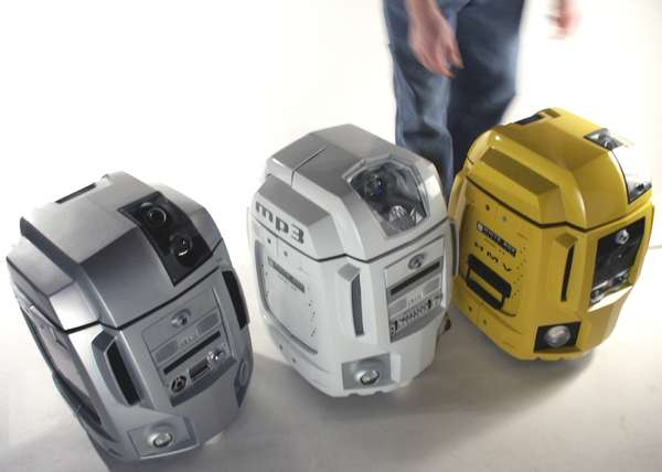 Mysterious Multifunctional Robots