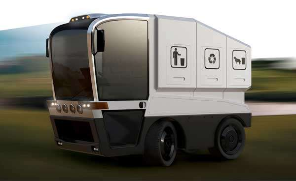 Multifunctional Waste Collection Vehicle