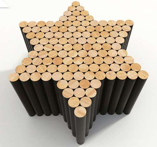 Modern Puzzle-Inspired Furniture