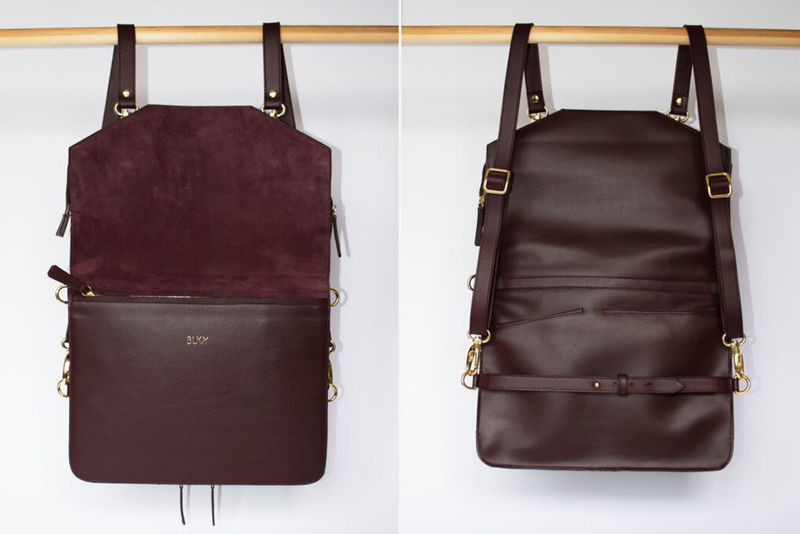 Convertible Leather Backpacks