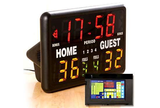 Mini Point-Keepers: The Multisport Tabletop Electric Scoreboard by MacGregor