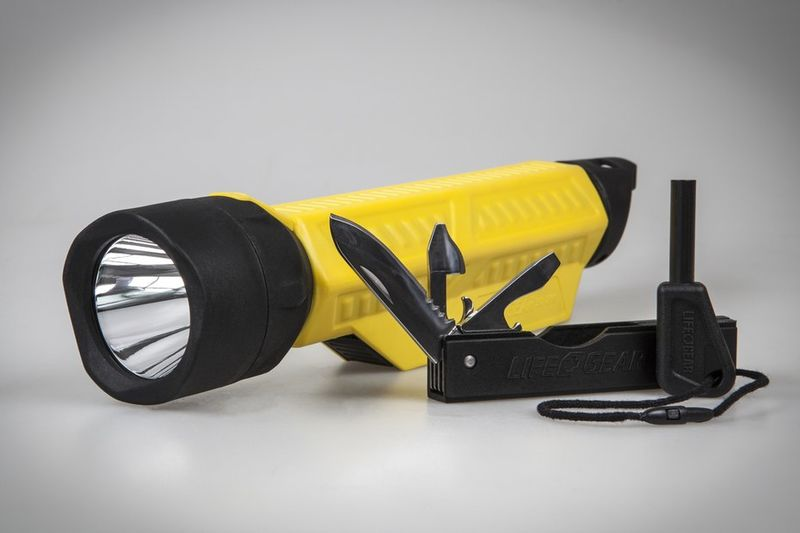 Streamlined Multitool Flashlights