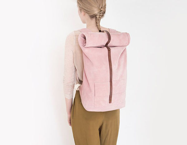 Plush Pastel Backpacks