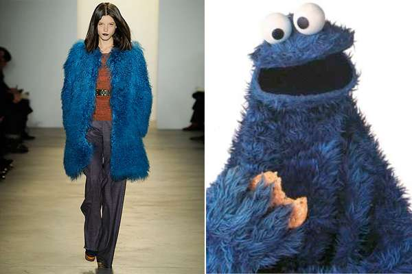 Cookie Monster Coats