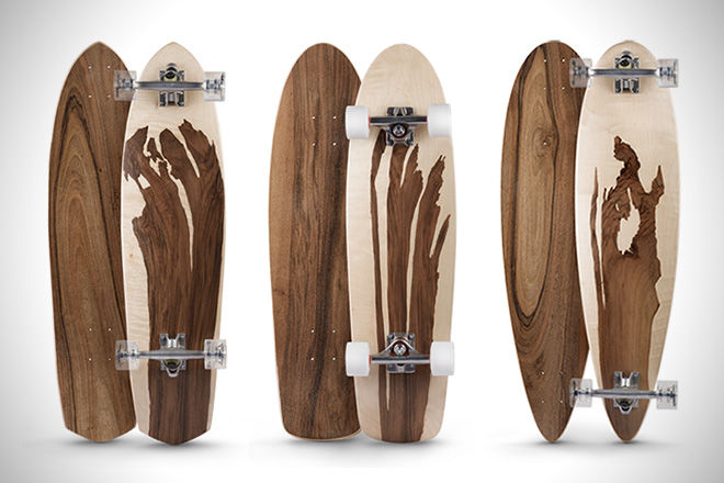 Waterproof Wooden Skateboards