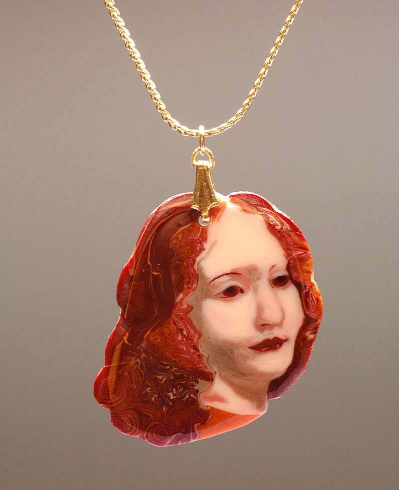 Melted Glass Portraits