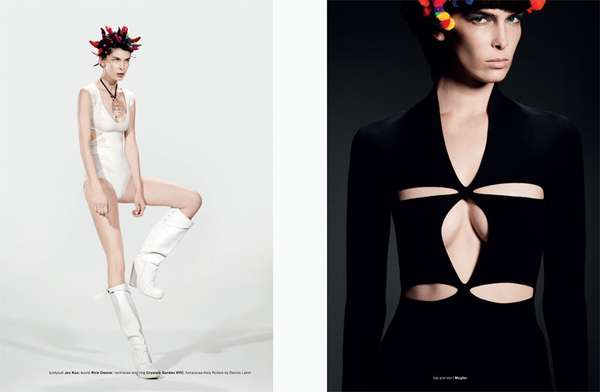 Futuristic Hair Editorials
