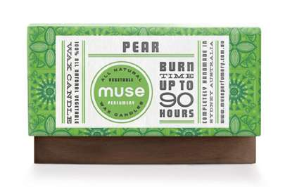 muse wax candles branding