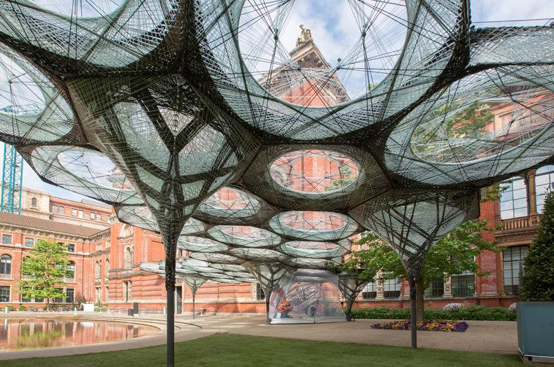 Carbon-Fibre Pavilions