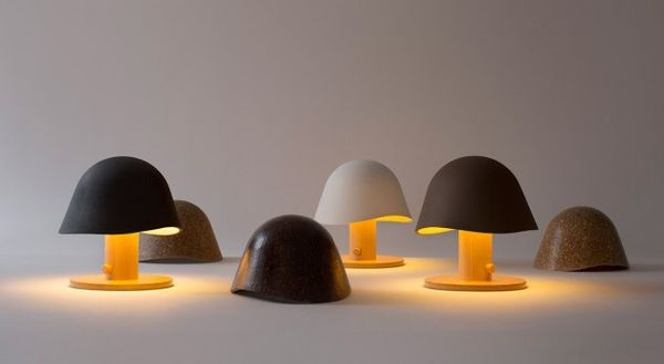 Minimalist Mushroom-Inspired Lighting