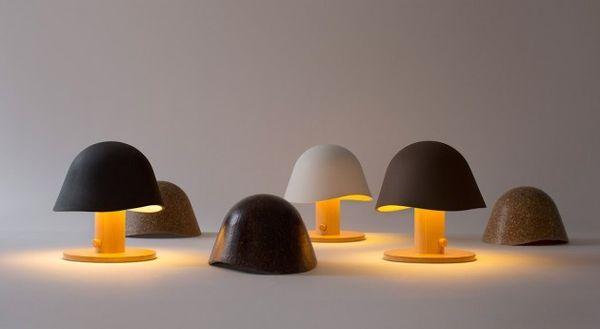 Minimalist Mushroom-Inspired Lighting