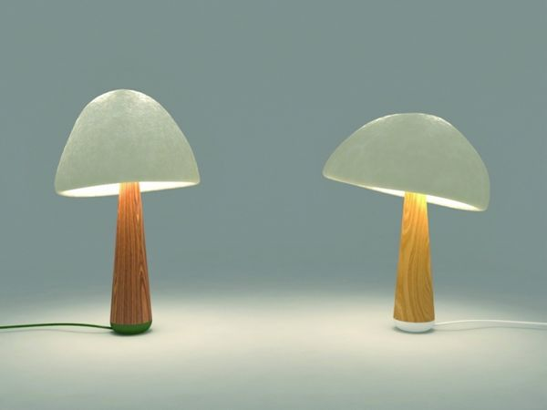 Mushroom-Grown Lighting