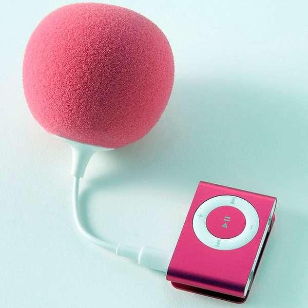 Plush Blimp-Inspired Speakers