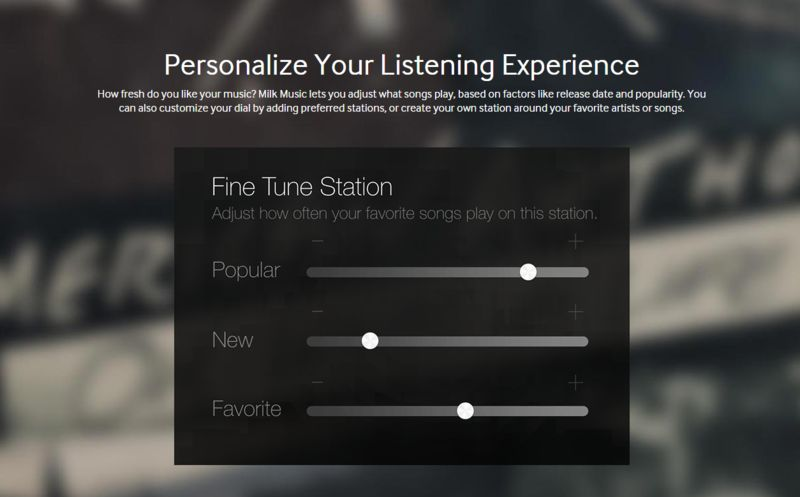 Personalized Music Platforms